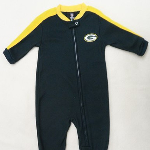 Packers Green and Gold Blanket Sleeper
