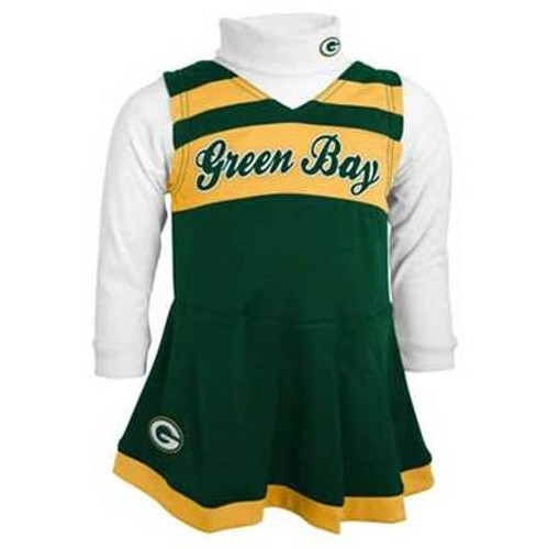 Green Bay Cheerleader Outfit - Toddler