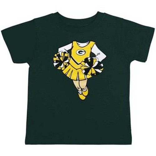 Packers Cheerleader Dreams Tee - Preschool
