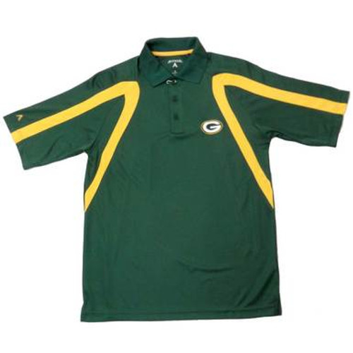 Packers Logo Point Polo Shirt - Mens