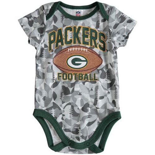 Packers Football Camouflage Bodysuit - Baby