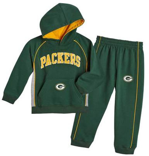 Packers Fan Fleece Set - Toddler