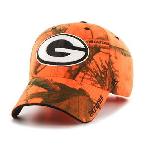 Packers Blaze Orange Realtree Frost Baseball Cap -