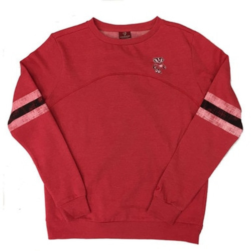 Bucky Badger Fleece Pullover - Ladies