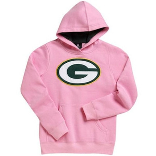 Packers Pink Pullover Hoodie - Toddler