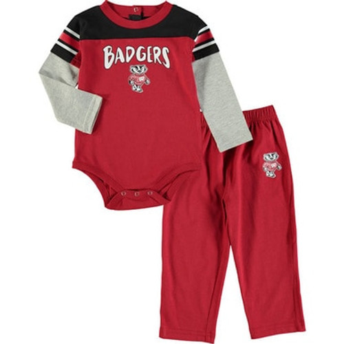 Bucky Badger Halfback Set - Newborn and Infant