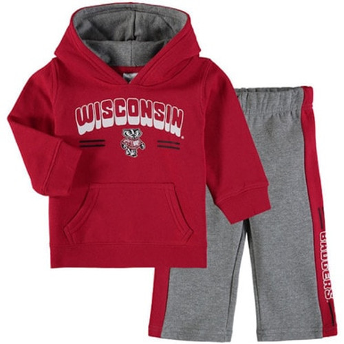 Wisconsin Bucky Badger Infant Fleece Set