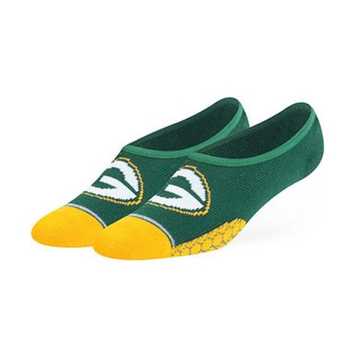Packers Glendale No Show Socks - Womens