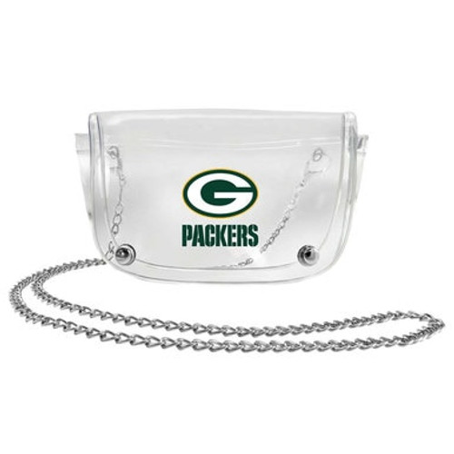 Packers Clear Waist Pack and Crossbody Purse