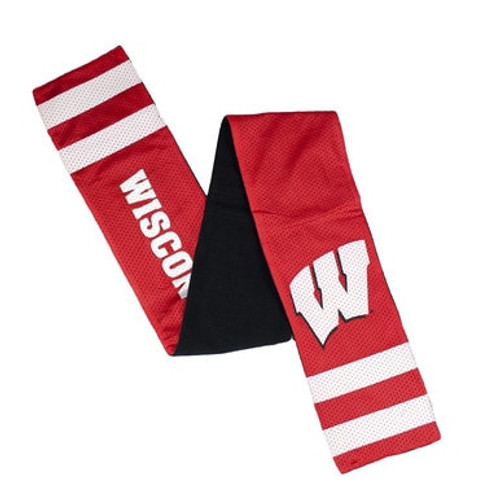 Wisconsin Badgers Jersey Scarf