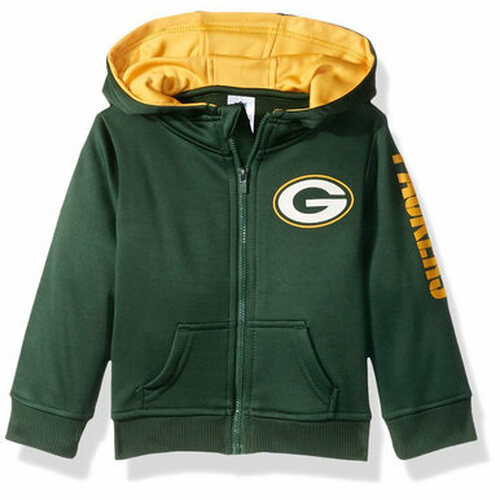 Green Bay Packers Full Zip Hoodie - Infant and Tod