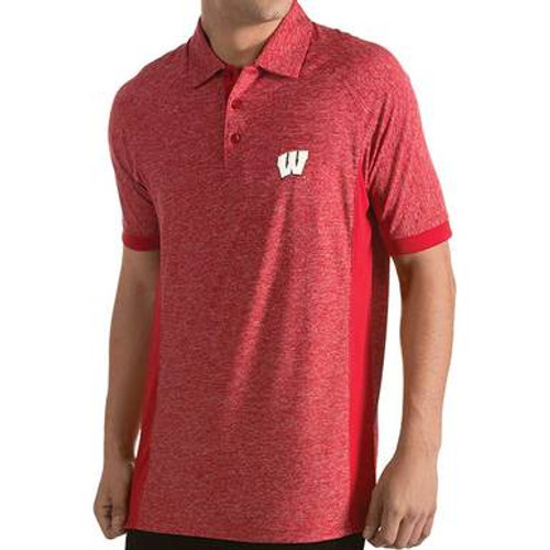 Wisconsin Badgers Talent Polo - Mens