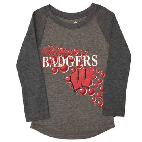 Wisconsin Badgers Long Sleeve Top - Preschool Girl