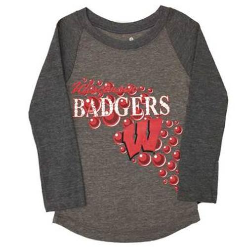 Wisconsin Badgers Long Sleeve Top - Preschool Girl