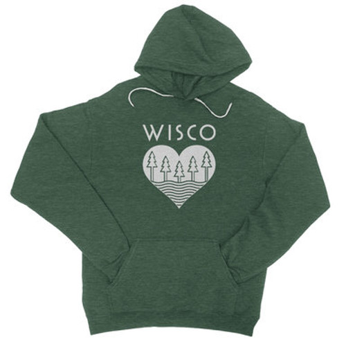 Wisco Roots Pullover Hoodie - Adult