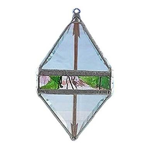 Garden Collage Double Pyramid Water Prism