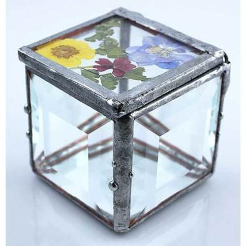 Flower Top Glass Box