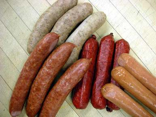 International Bratwurst Sampler