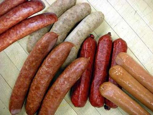 Variety Bratwurst and Sausage Sampler - Main Image