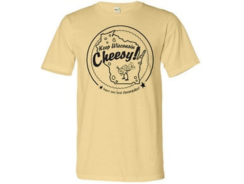 Wisconsin Mens Cheesemaker T-Shirt