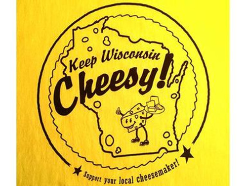 Wisconsin Ladies Cheesemaker T-Shirt