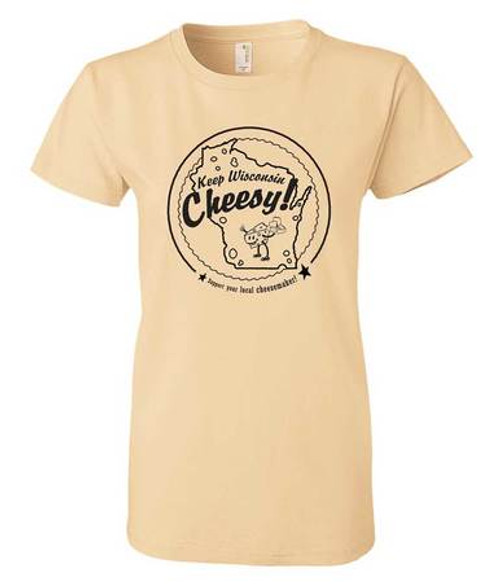 Wisconsin Ladies Cheesemaker T-Shirt