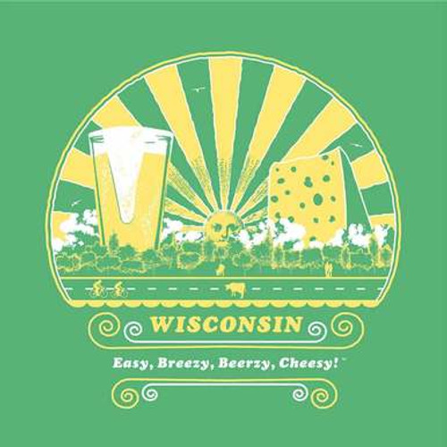 Wisconsin Beer and Cheese Ladies T-Shirt