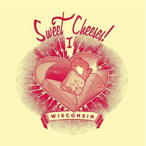 Wisconsin Sweet Cheeses Mens T-Shirt