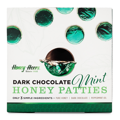 Honey Acres Dark Chocolate Honey Truffle Mint 3-Packs