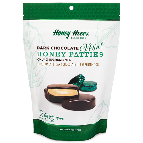 Dark Chocolate Honey Truffles Mint - 3 Bags
