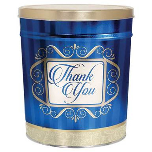 Thank You Popcorn Gift Tin - 3.5 Gallon