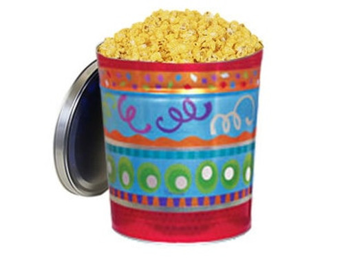 Cheddar Cheese Popcorn Gift Tin