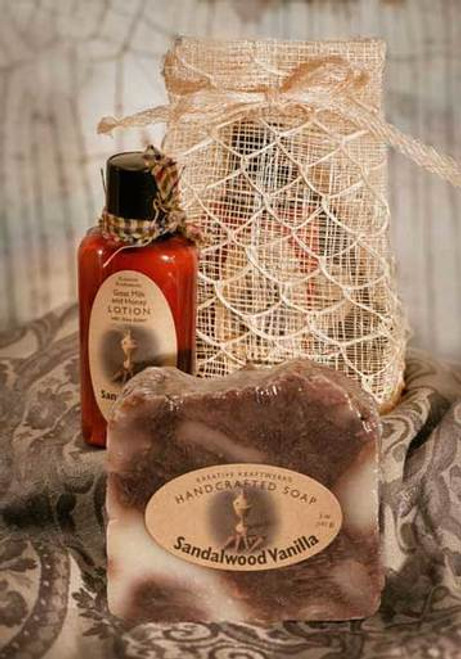 Soap and Lotion Sinamay Gift Bag