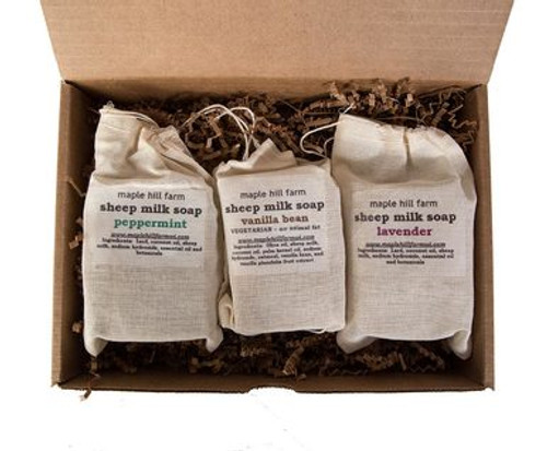 Sheep Milk Soap Gift Box