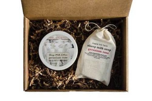 Sheep Milk Soap and Lotion Gift Set