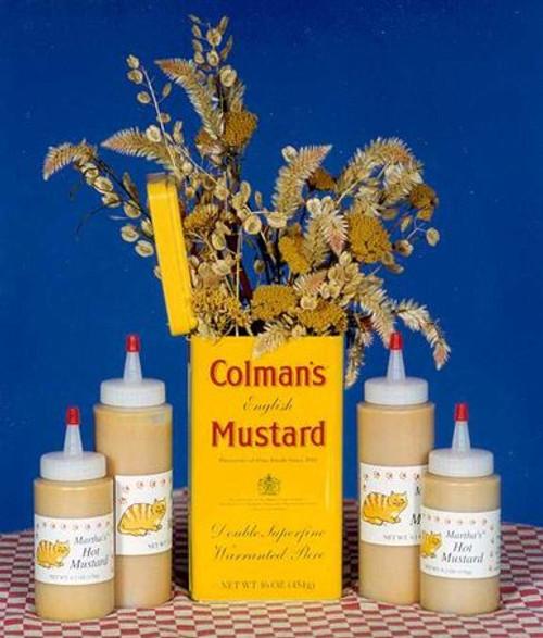 Martha's Hot Mustard