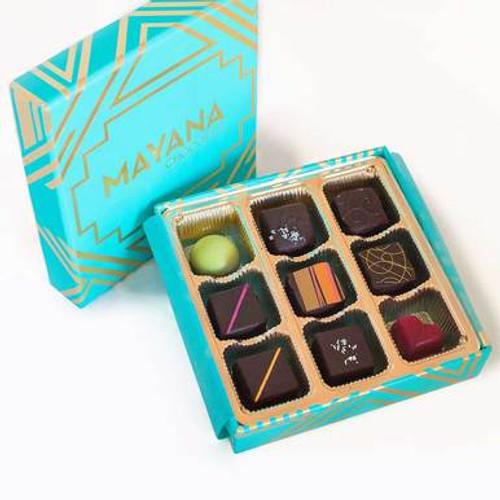 Mayana Chocolates Signature Box - 9 Piece
