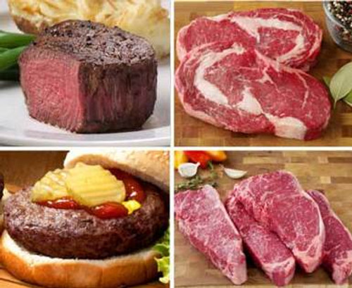 Steak and Burger Grilling Assortment - 28 Pieces