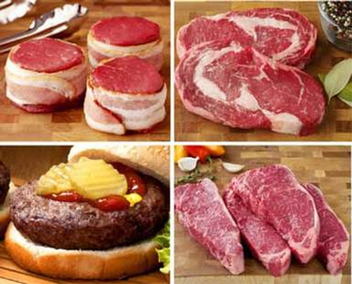 Steak and Burger Grill Pack - 16 Pieces