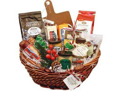 Wisconsin Gifts Christmas Basket