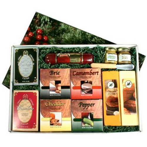 Holiday Pleasure Cheese Gift Box