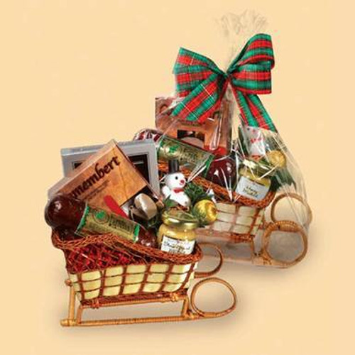 You Sleigh Me Gift Basket