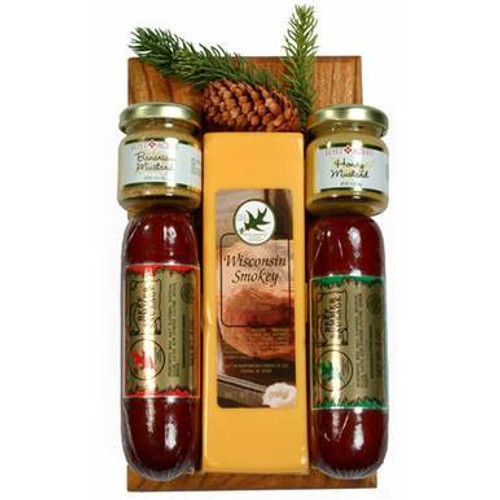 Wisconsin Sausage and Cheese Snack Gift Set