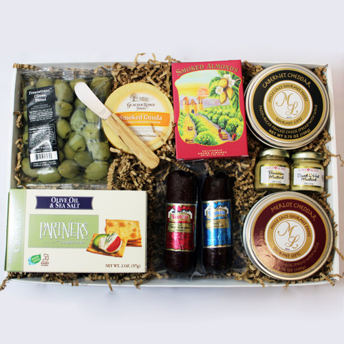 Cheese and Sausage Feast Gift Box