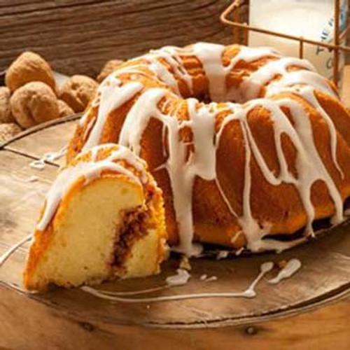 Cinnamon Walnut Crown Cake