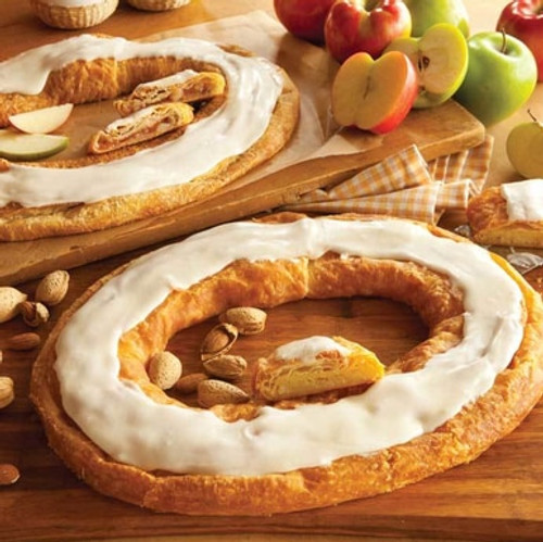 Kringles Pair - Apple and Almond