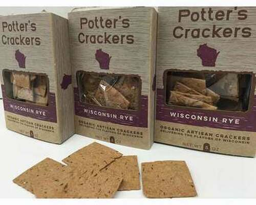 Wisconsin Rye Crackers