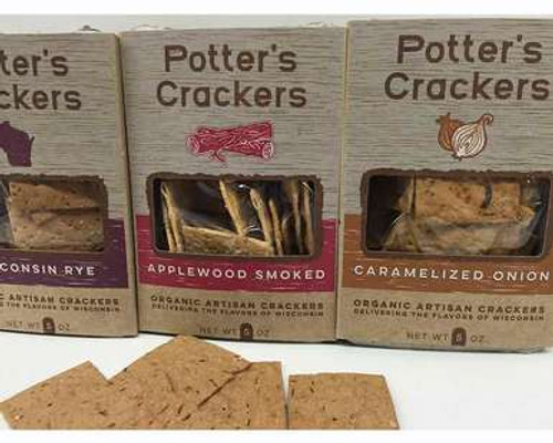 Wisconsin Organic Crackers Variety Pack