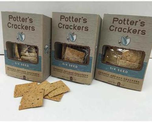 Six Seed Organic Crackers