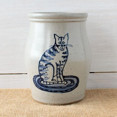 Cat Utensil Jar